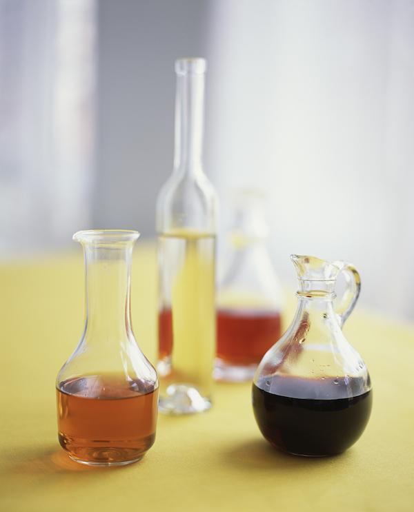 Jars of vinegar