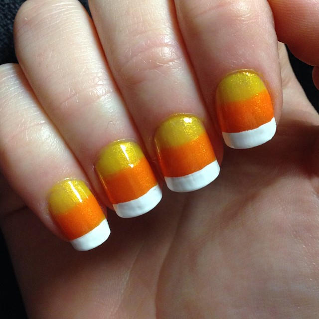 jaclynbarrett Easy Halloween Nail Art You Can Actually Pull Off At Home