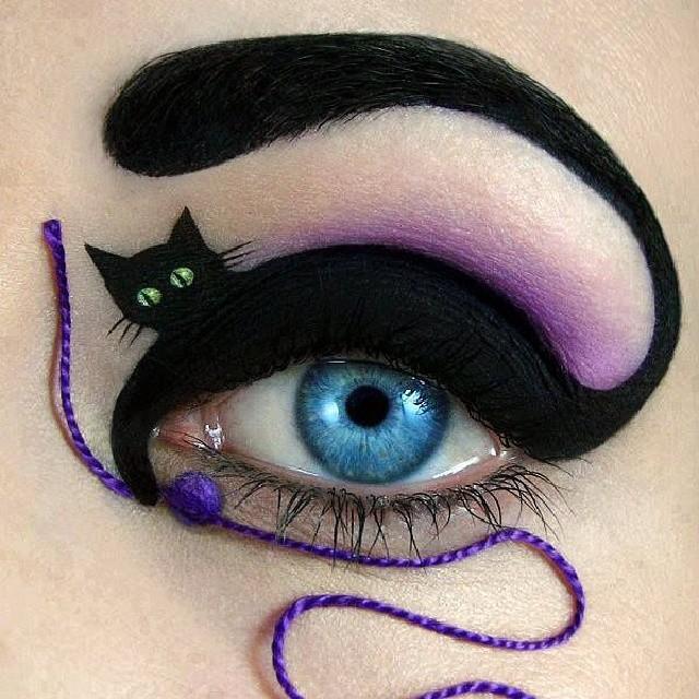 lovethisishh Halloween Eye Makeup: Creepy Looks to Complete Your Costume