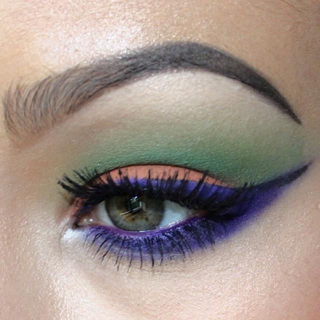 lunatick cosmetic labs Halloween Eye Makeup: Creepy Looks to Complete Your Costume