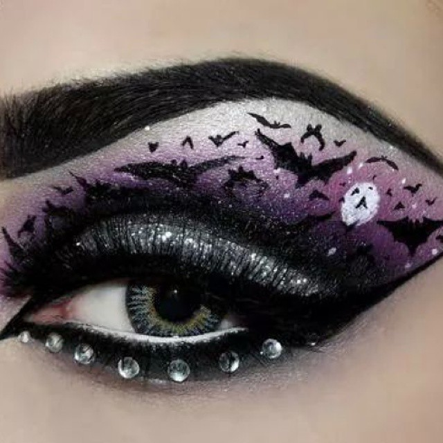 maricelis83 Halloween Eye Makeup: Creepy Looks to Complete Your Costume