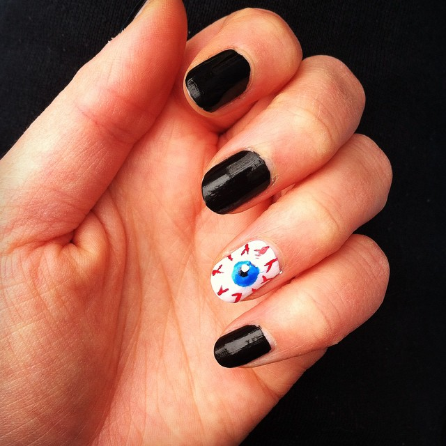 mowrguane Easy Halloween Nail Art You Can Actually Pull Off At Home