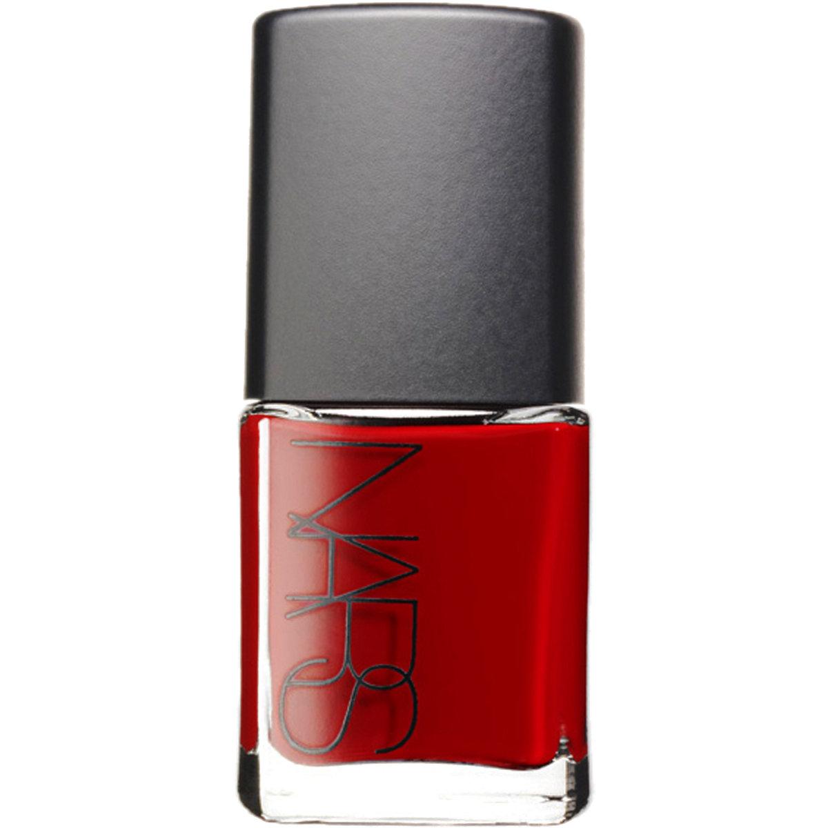 nars jungle red nail polish
