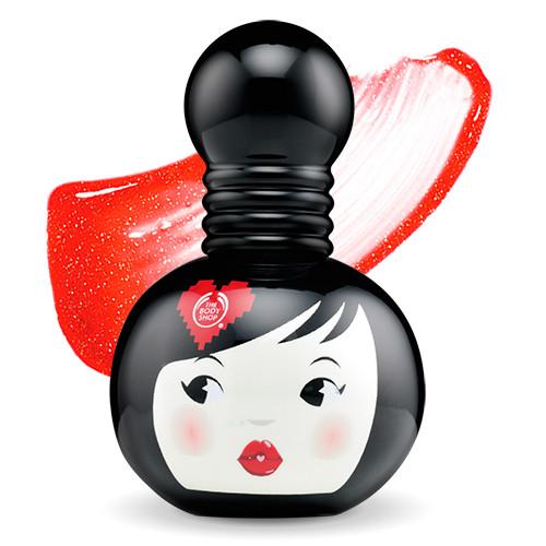 geisha lip and cheek stain body shop