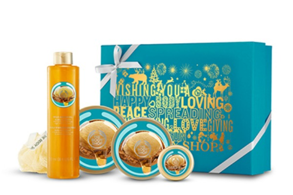 the body shop gift set 7 Amazing Holiday Beauty Products That Give Back