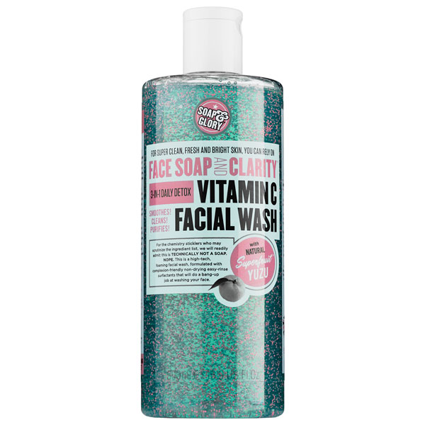soap and glory cleanser The One Thing: Soap & Glory Face Soap and Clarity Vitamin C Facial Wash