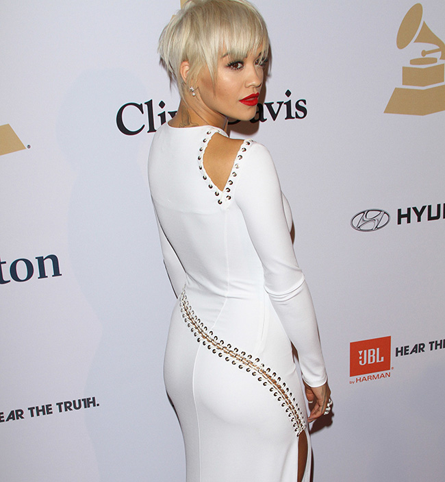 Rita Ora Debuts New Pixie Cut At The Grammys Stylecaster