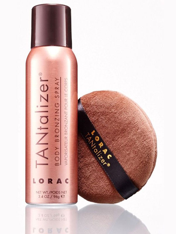 lorac spray Self Tanning 101: Beauty Products to Try to Get That Glow