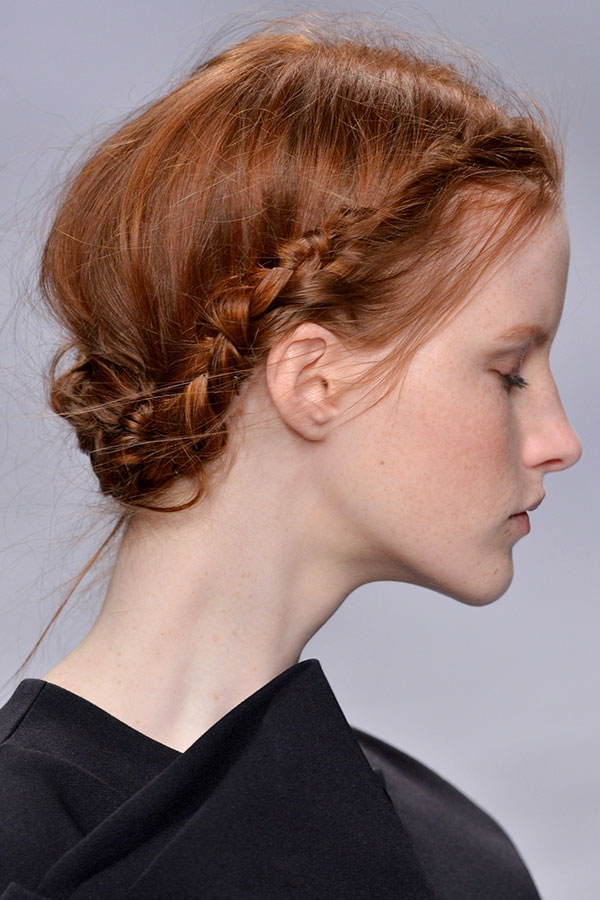 how to make thin hair look thicker in a braid