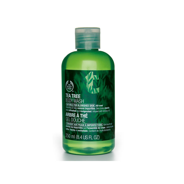 tea tree oil Eco Friendly Body Wash and Bath Products For a Better Shower
